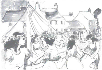 The Maypole Village