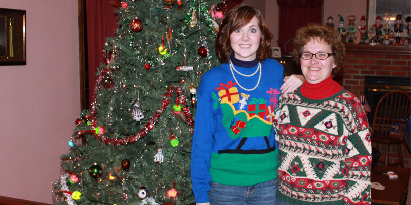 Family Duo Christmas Jumpers