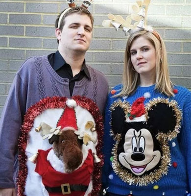 Mickey Mouse Christmas Jumpers