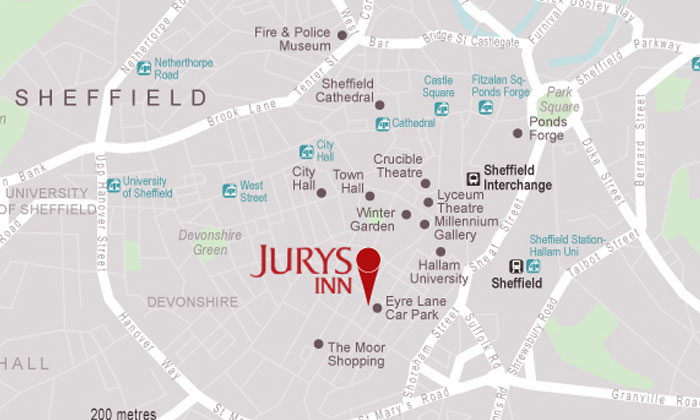 Hotel In Sheffield City Centre Jurys Inn Sheffield Hotels