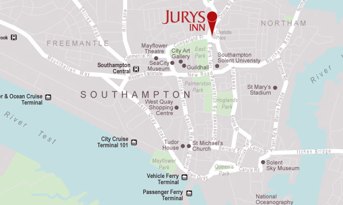 Hotels In Southampton City Centre Jurys Inn Stay Happy